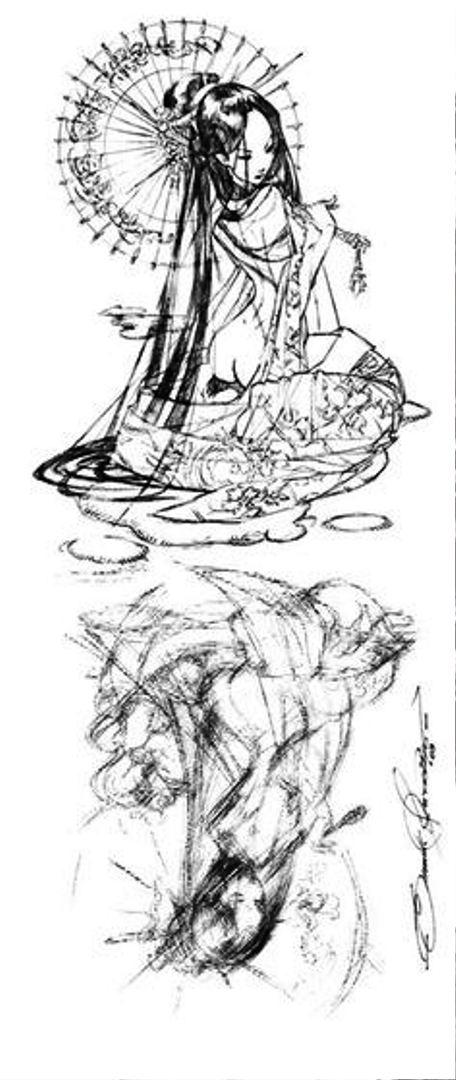 TattooMix Dövmecim samurai geyşa dövmeleri (11)