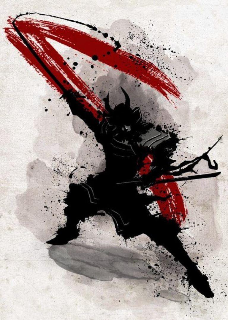 TattooMix Dövmecim samurai geyşa dövmeleri (12)