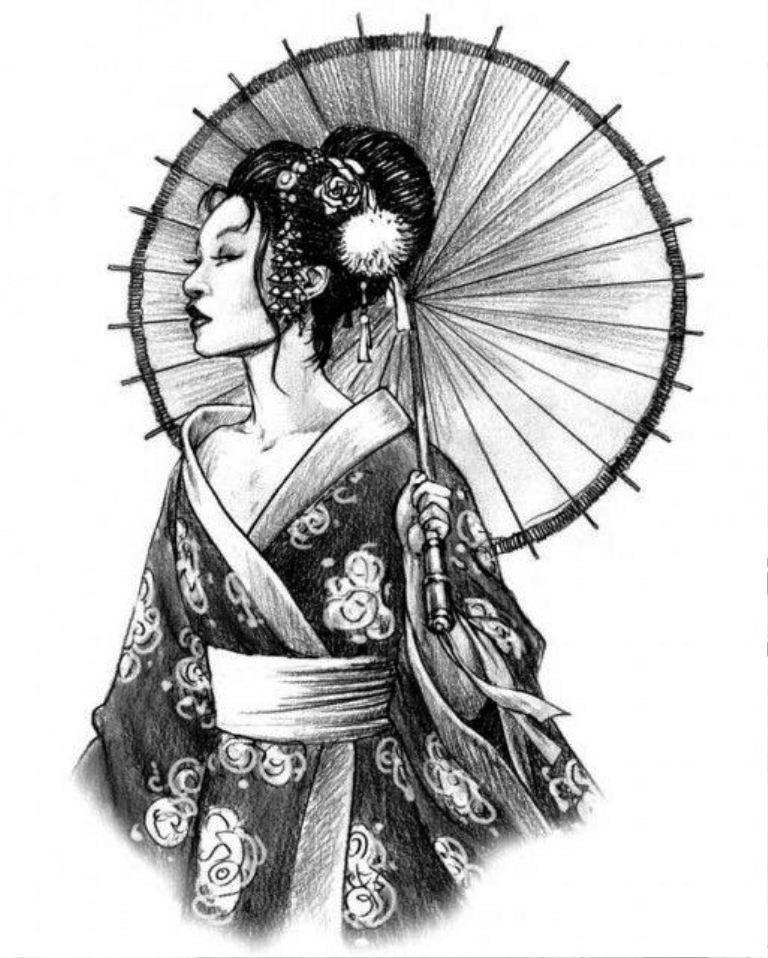 TattooMix Dövmecim samurai geyşa dövmeleri (6)