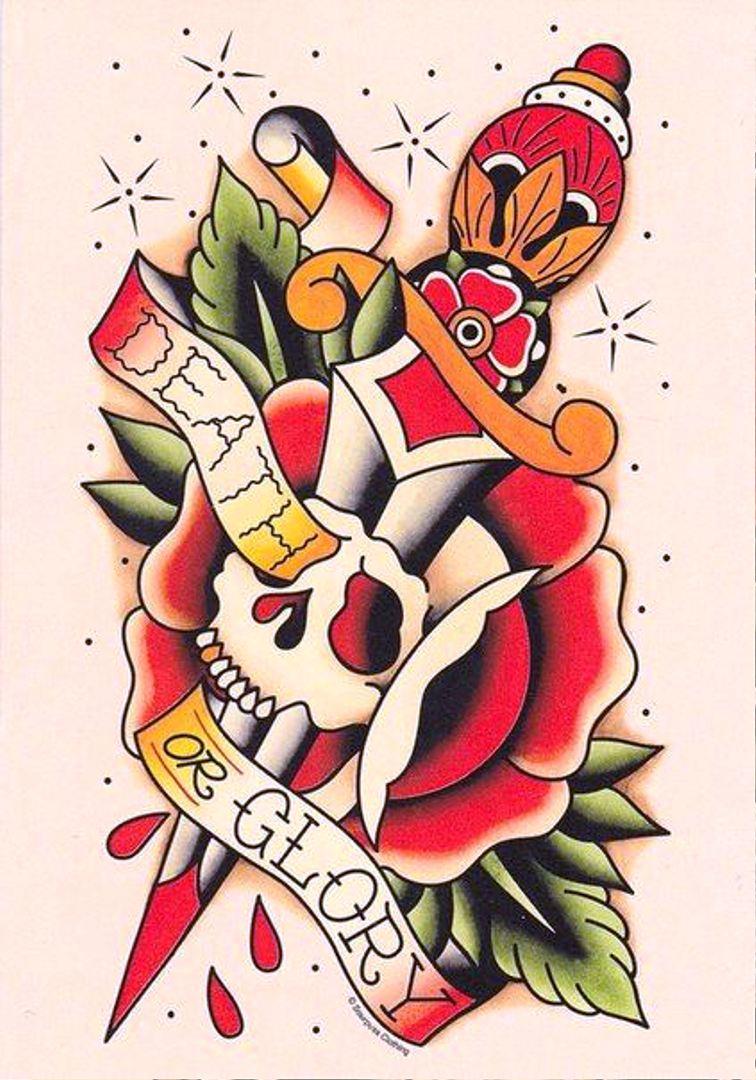 TattooMix Dövmecimgeleneksel old school dövmeleri (12)