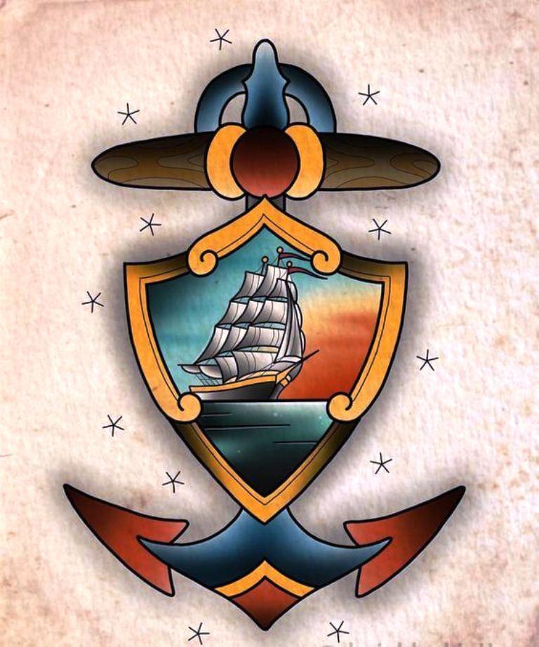 TattooMix Dövmecimgeleneksel old school dövmeleri (2)