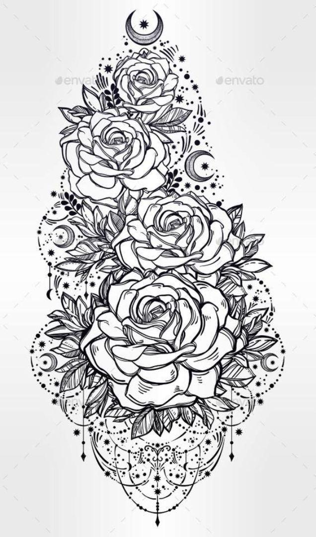 tattoo mix dövmecim çiçek dövmeleri (13)