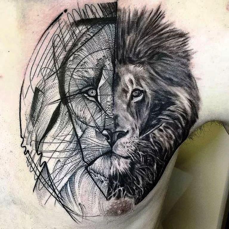 tattoo mix dövmecim aslan dövmeleri (6)