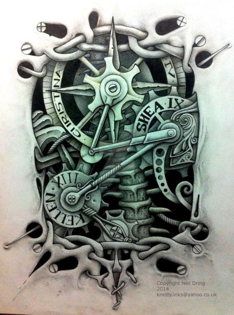 tattoo mix dövmecim biomekanik dövmeler (7)