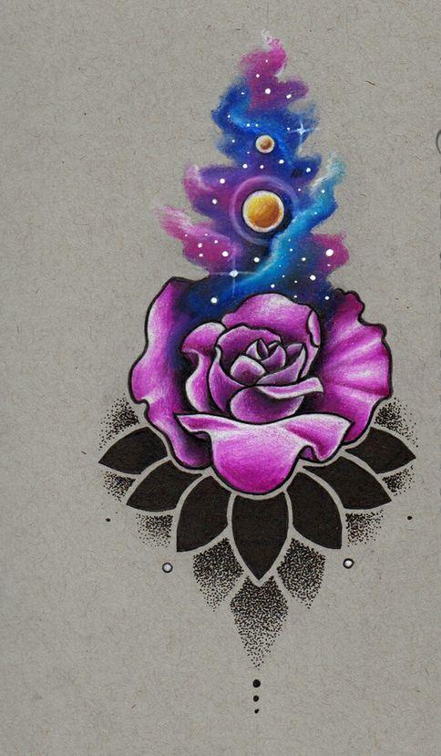 tattoo mix dövmecim galaksi dövmeleri (1)