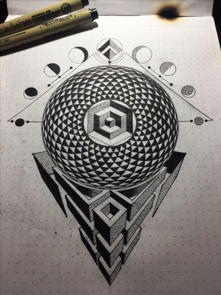 tattoo mix dövmecim geometrik dövmeler (10)