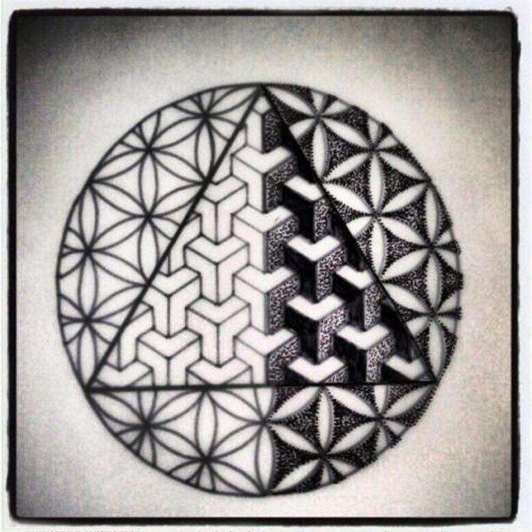 tattoo mix dövmecim geometrik dövmeler (7)