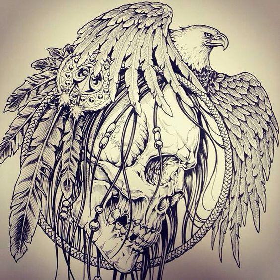tattoo mix dövmecim kartal dövmeleri (11)