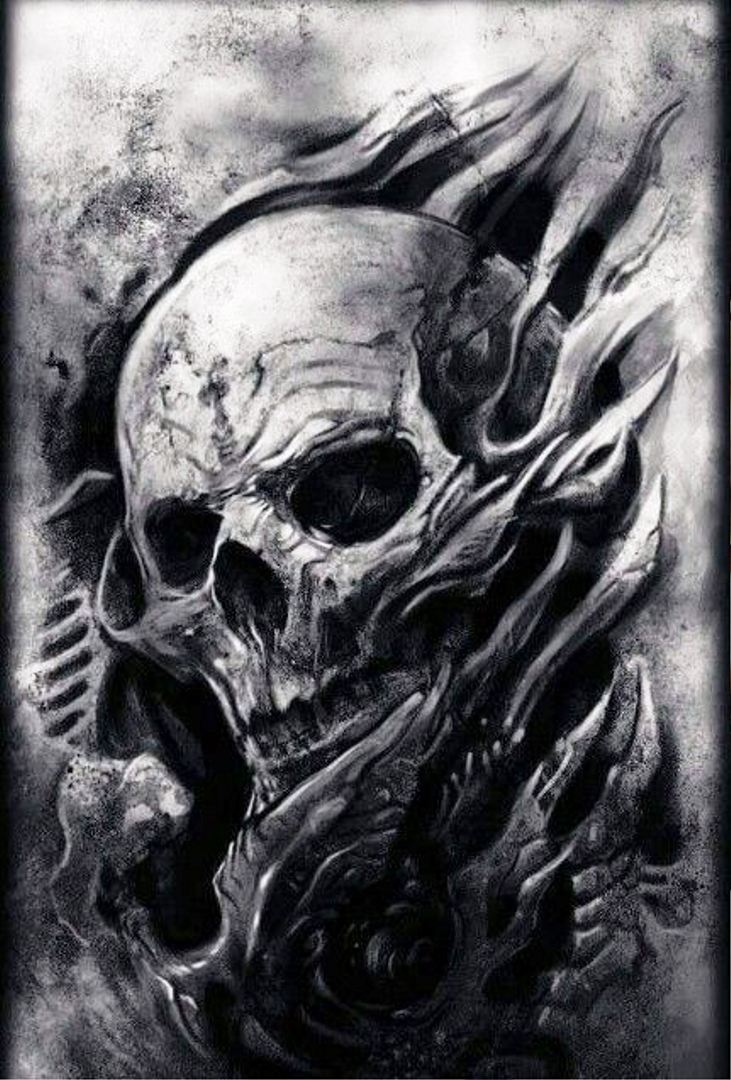tattoo mix dövmecim kurukafa skull dövmeleri (15)