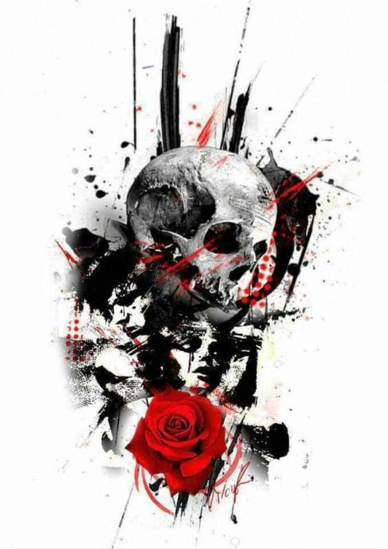 tattoo mix dövmecim kurukafa skull dövmeleri (6)