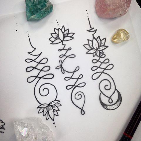 tattoo mix dövmecim unalome dövmeler (2)
