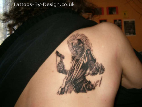 So what do you think of music tattoos? Do you think they're disgusting