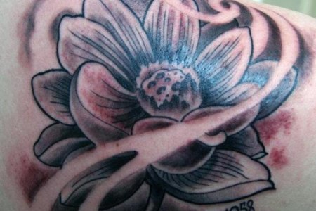 Lotus flower black tattoo flower shop near me flower shop spine tattoo ideas for women art and design an abstract style lotus tattoo for a more unique design a lotus flower has different simply amazing lotus flower mightylinksfo