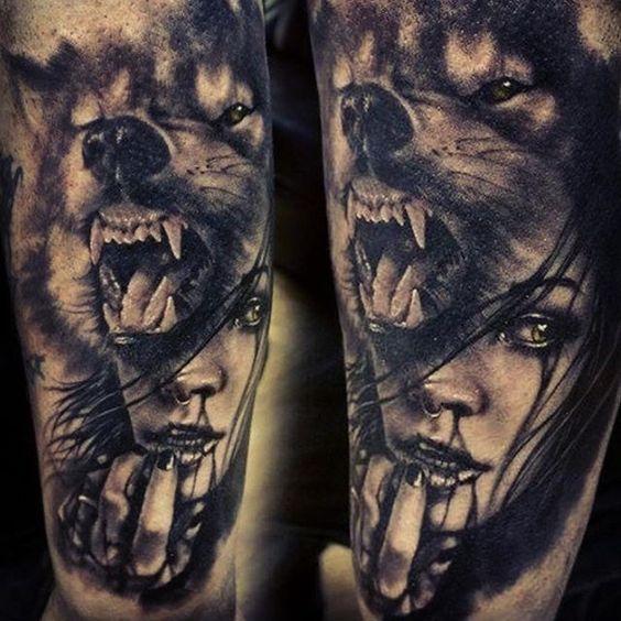 Best Wolf Tattoos Designs 5