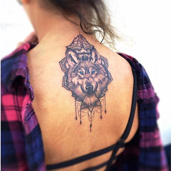 Best Wolf Tattoos Designs 4