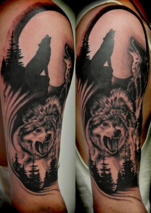 Best Wolf Tattoos Designs 8