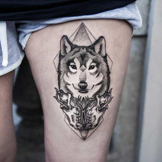 Best Wolf Tattoos Designs 9
