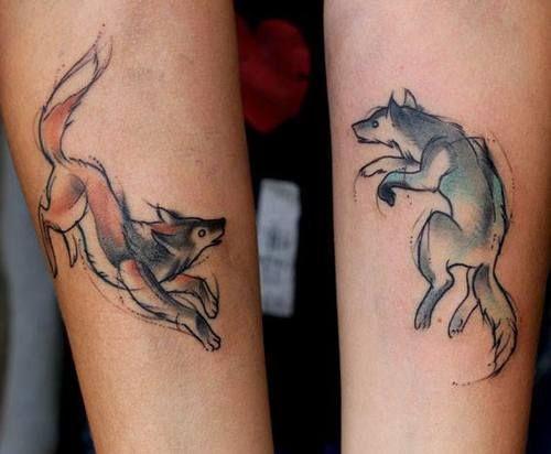 Best Wolf Tattoos Designs 26