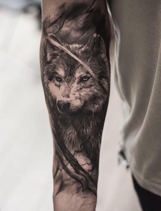 Best Wolf Tattoos Designs 21