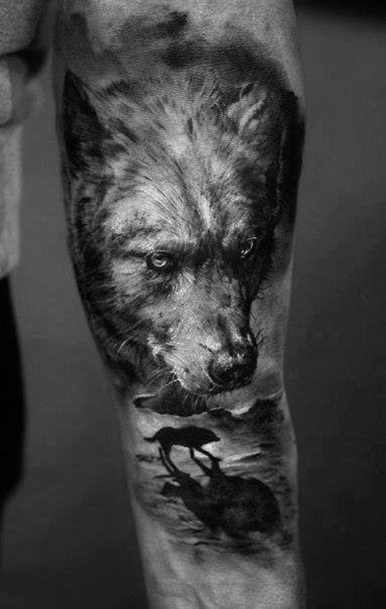 Best Wolf Tattoos Designs 37