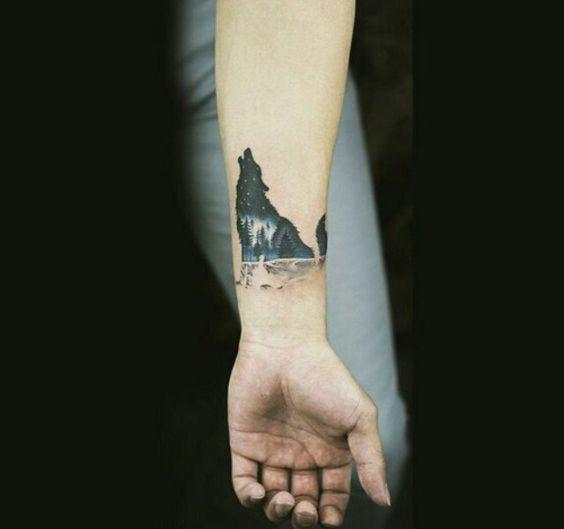 Best Wolf Tattoos Designs 34