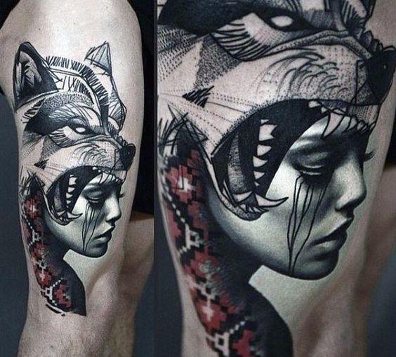 Best Wolf Tattoos Designs 91