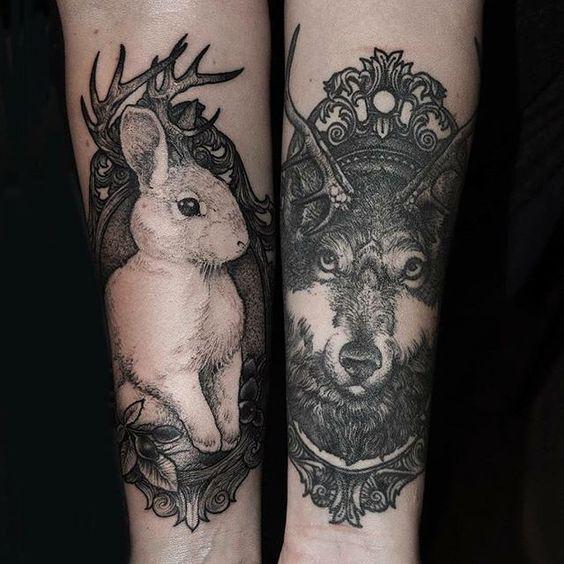 Best Wolf Tattoos Designs 78