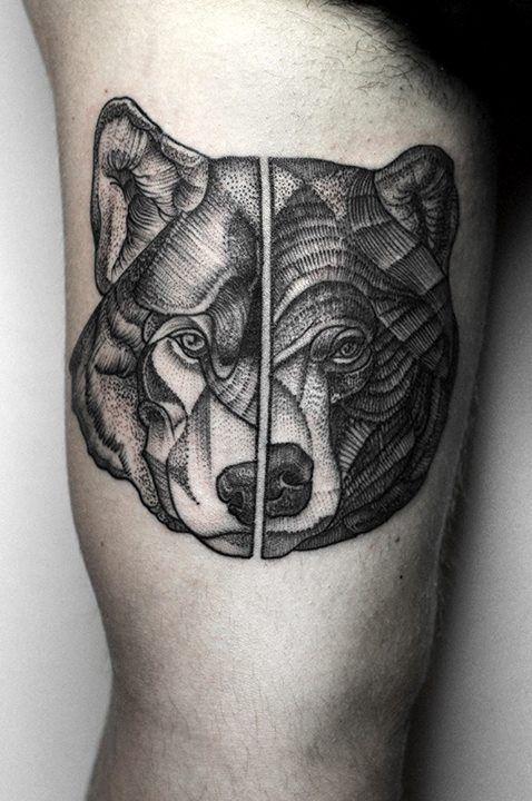 Best Wolf Tattoos Designs 102