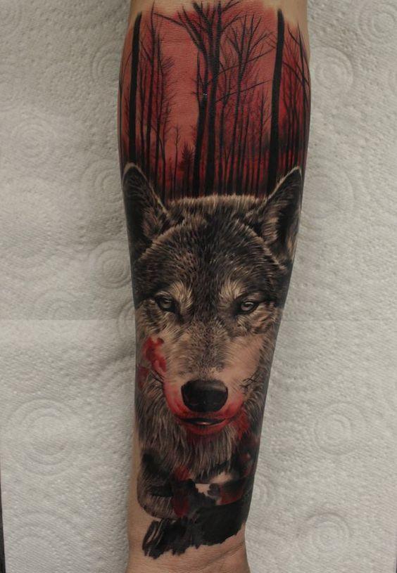 Best Wolf Tattoos Designs 101