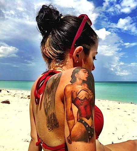If you have a tattoo yoy should be twice more accurate in the sun