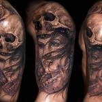 Awesom skull tatto designs 105