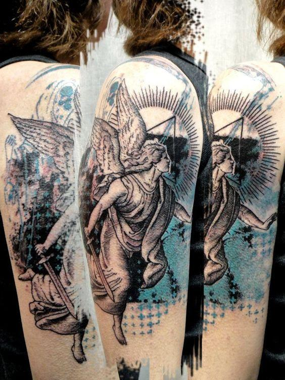 Remarkable Angel Tattoos (4)