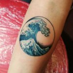 185 Wave Tattoo Designs and Ideas For Those Who Love Ocean