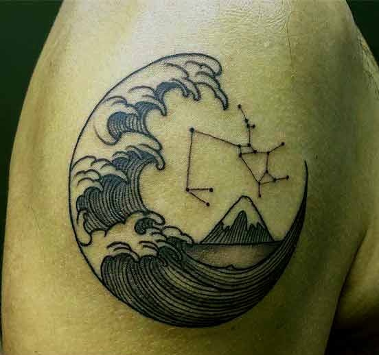20 Sagittarius Constellation Tattoo Designs, Ideas and Meanings for Zodiac Lovers
