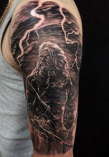 Reaper Sky Tattoo