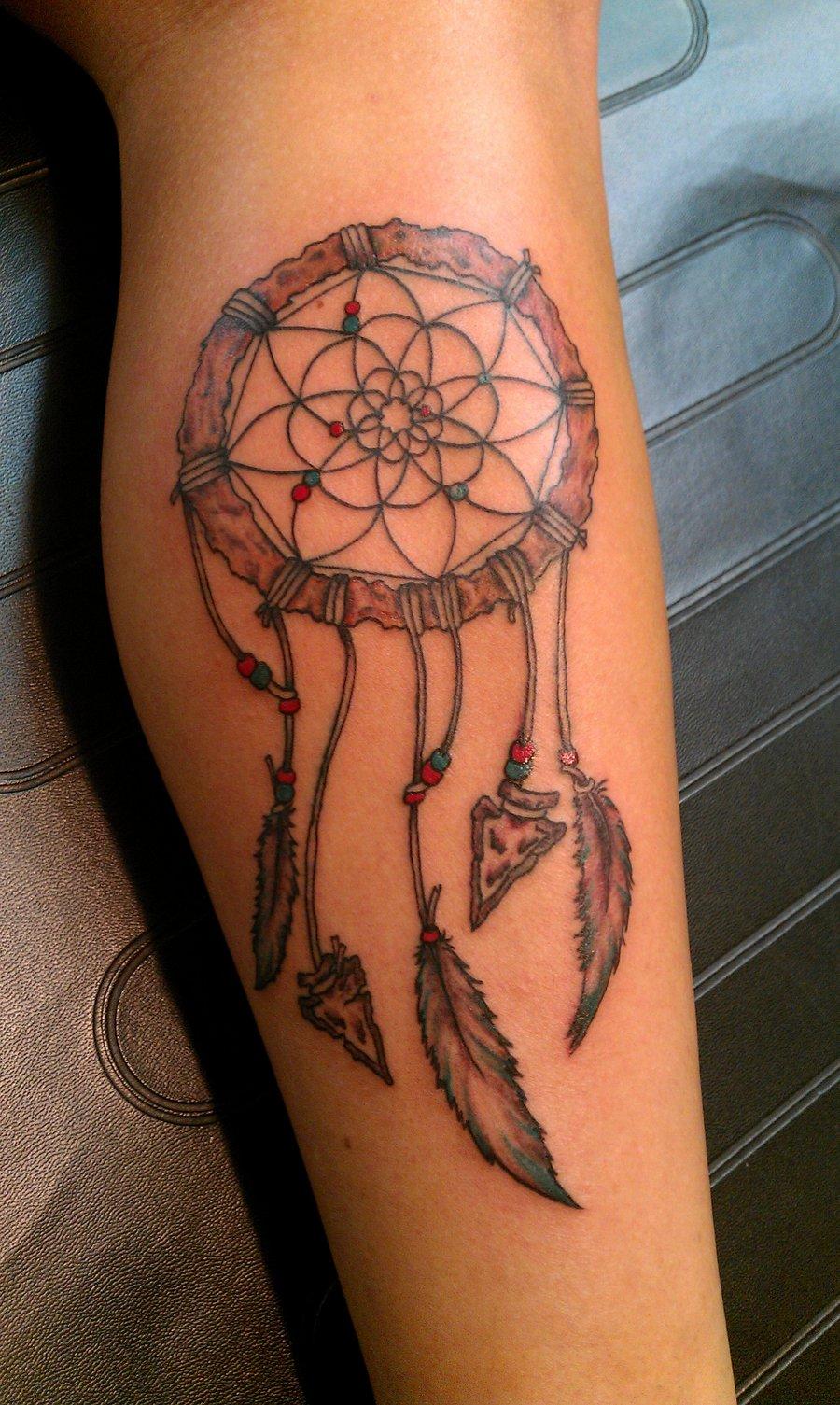 Dream Catcher It Tattoo Name