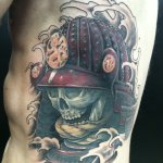 Samurai Mask Tattoos Designs Ideas And Meaning Tattoos For You
