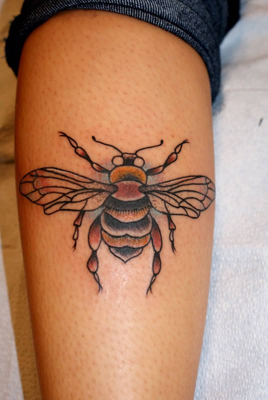 Bee Tattoo Ideas And Bee Tattoo Designs Page 2