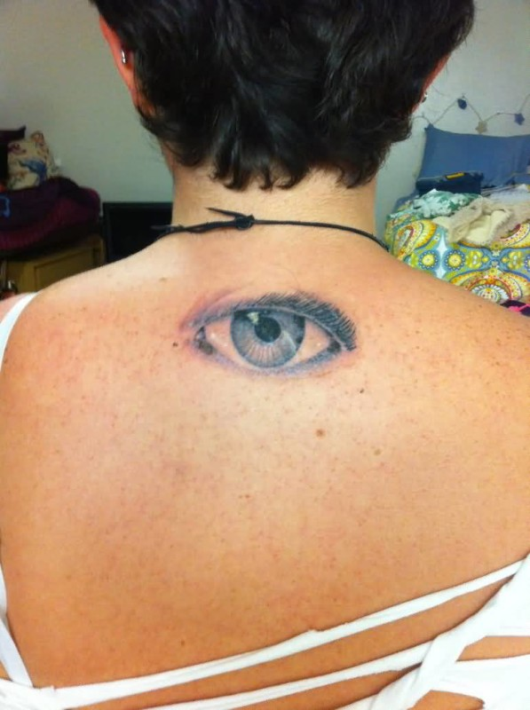 Eye Back Tattoos Images Pictures Tattoos Hunter
