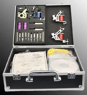 All the tattoo guns kit