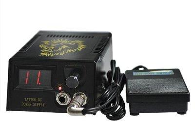 Tattoo machine kit power supply
