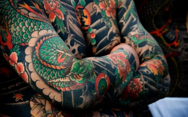 Japanese tattoos designs in inspiration