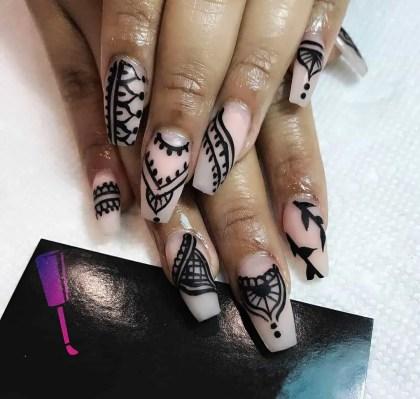 Henna Nails Paint