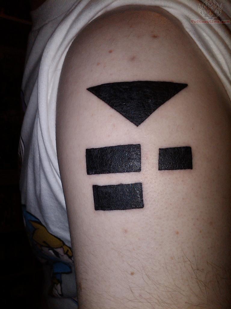 Infinity Symbol Cross