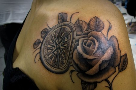 compass rose tattoo meaning » Full HD Pictures [4K Ultra] | Full ...