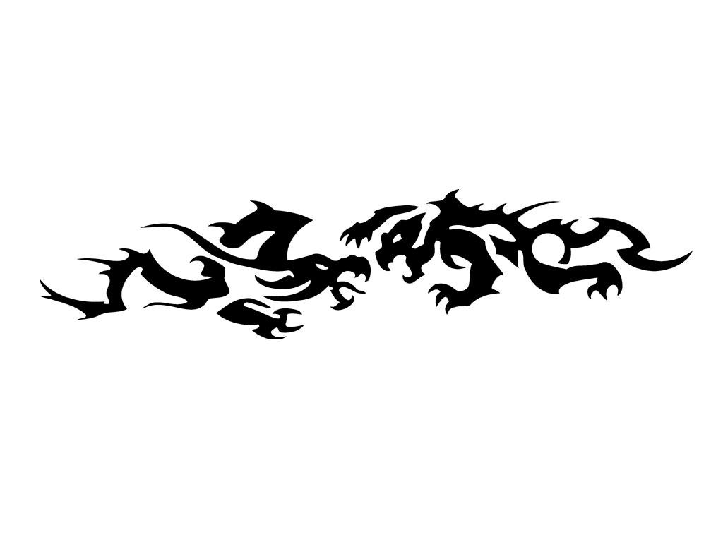 Pin Tattoos Tribal Armband Tattoo Designs Dragon Maori