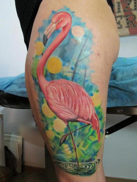 Flamingo Tattoo Images Amp Designs