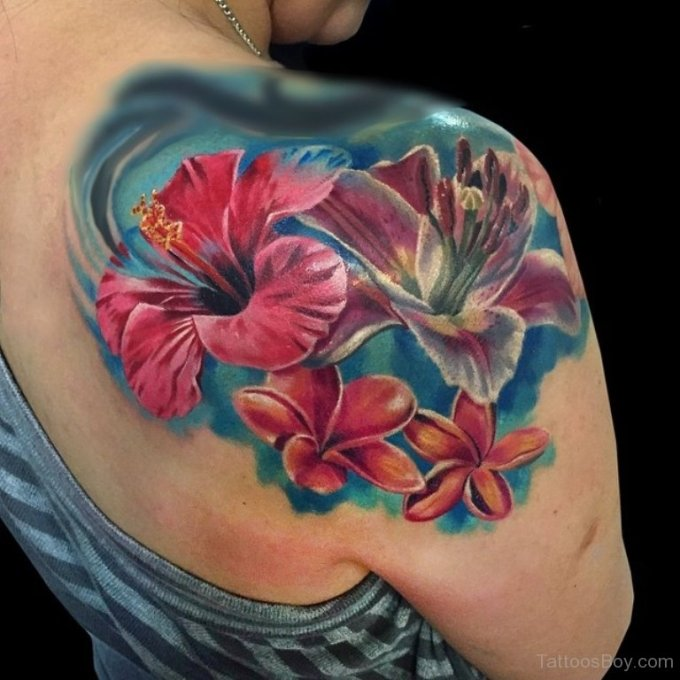 Hibiscus Tattoo Images & Designs