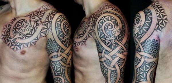 Danske Holger Tattoos Viking