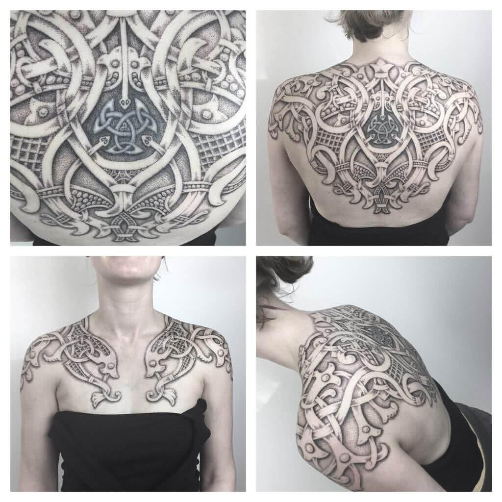 Tattoo Celtic Shield